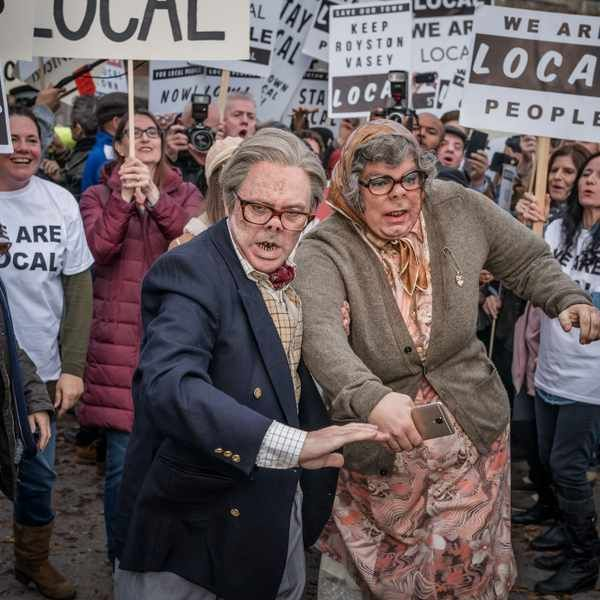 """It's like I never left Royston Vasey"" – fans celebrate the return of The League of Gentlemen"