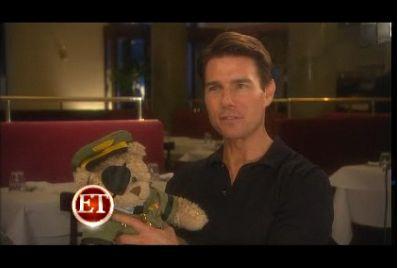 Stauffenberg Bear y Tom Cruise para el estreno de Valkiria.