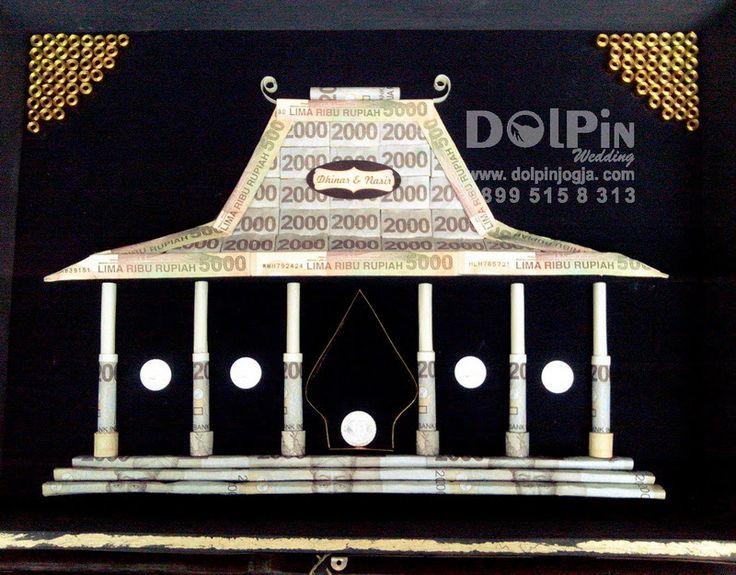Mahar Uang Bentuk Joglo #MaharUang #Mahar #maharunik #Wedding #Nikah #Handmade #Nikah