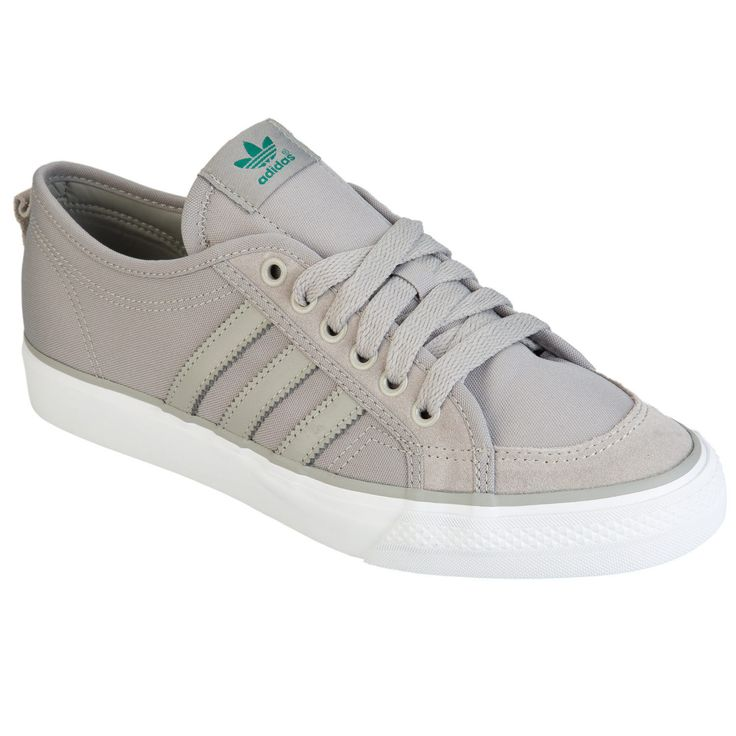 adidas Originals Men's Nizza Lo Trainers In Grey From Get The Label ADITRAIN | eBay