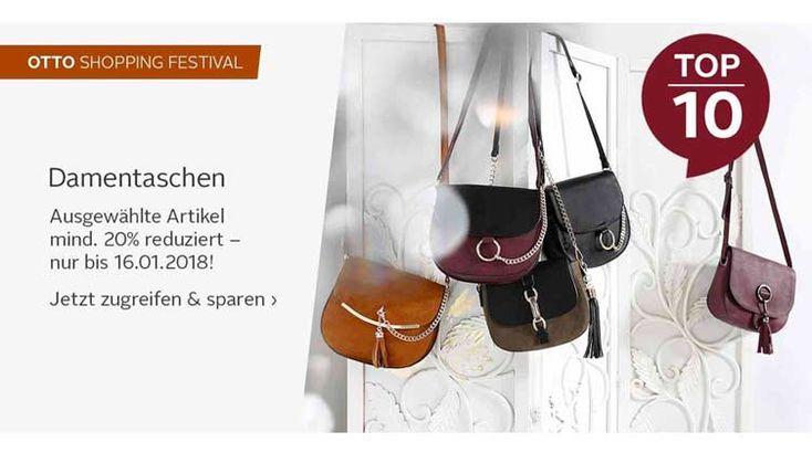 #Handtaschen #reduziert im #OTTO Online Shop. Mind. 20%