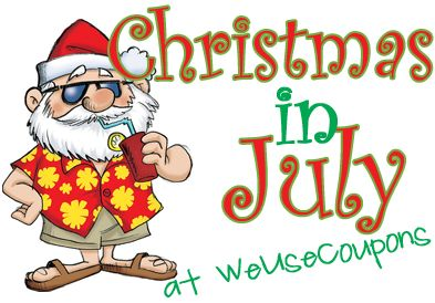 Christmas in July - start getting ready for Christmas now!