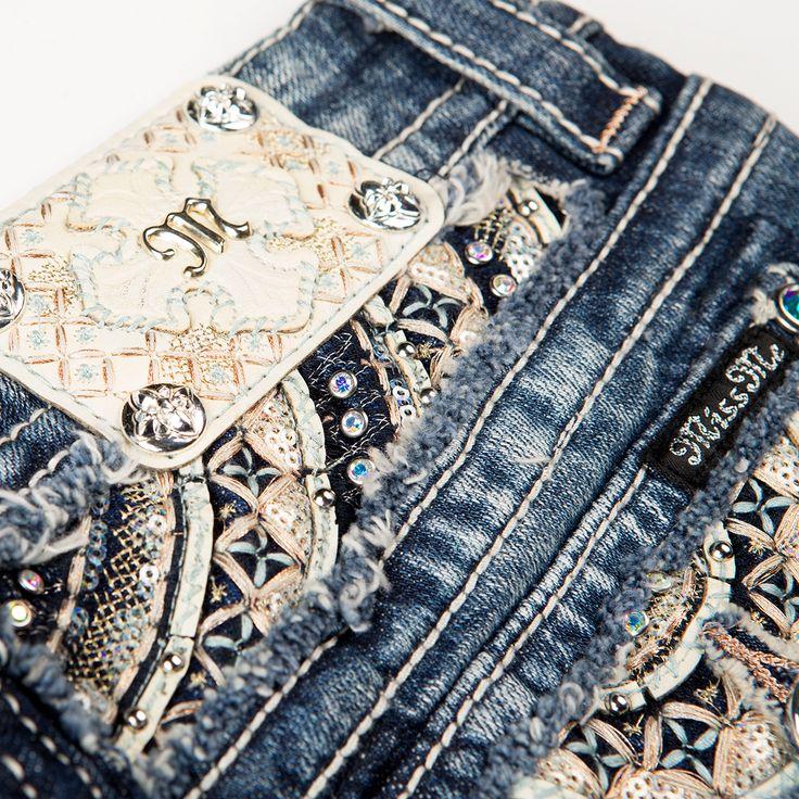 Zodiac Wheel Insert Miss Me Jeans