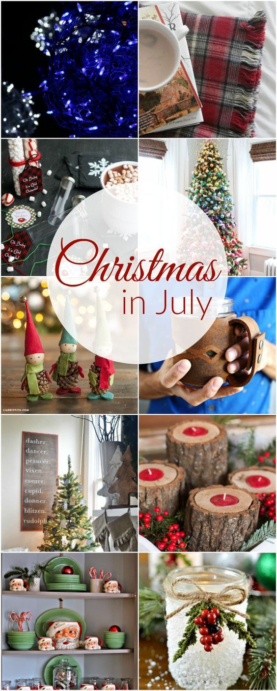Christmas in July: 10 Projects to Start Now