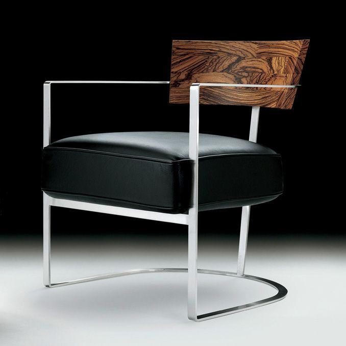 Armchair And Stool Morgan Von Flexform Dieter Horn