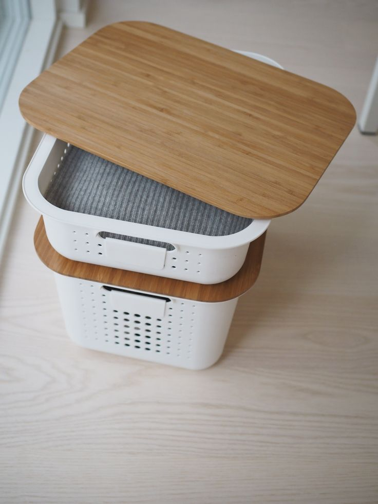 SmartStore Baskets with bamboo lids