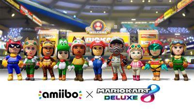 Mario Kart 8 Deluxe tendra 5 modos de batalla y nuevos atuendos de Amiibo