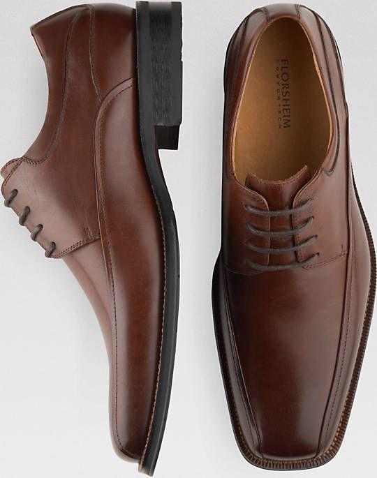 Florsheim Mens Dress Shoes Alverson Brown Leather