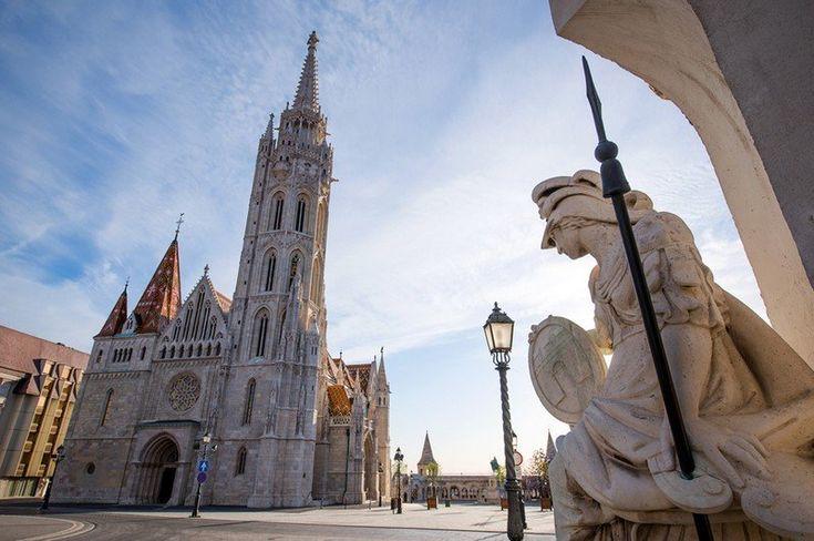 Budapest  - L'Église de Mathias de Budapest