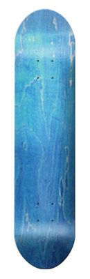 "Blue Blank SKATEBOARD DECK 7.75"" - W/ Grip Tape on eBay!"