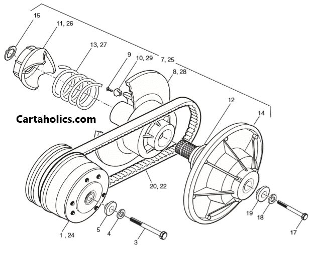[DIAGRAM] Yamaha Golf Cart Clutch Diagram FULL Version HD
