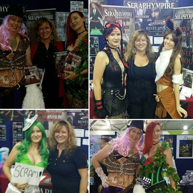 A big thank you goes out to these lovely ladies who purchased my #Seraphympire #novels @ the #Brisbane #Supanova2016 last weekend, your #Cosplay #costumes were #amazing & so were you. This is why I do these #BookSigning events, because meeting people like you is most humbling. Thank you again, I hope you enjoy reading my books @freidaroam @Fallen2314 😆❤ 📖📚