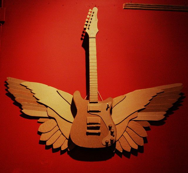 1000+ Images About Cardboard Guitar On Pinterest