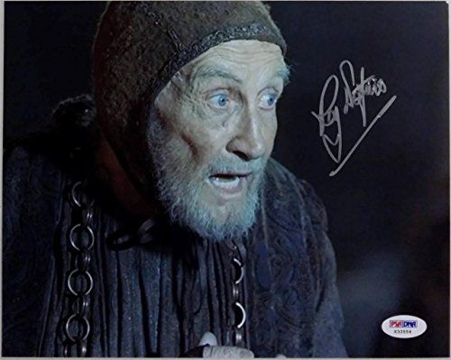 Roy Dotrice Signed Game Of Thrones 8x10 Photo PSA/DNA Auto