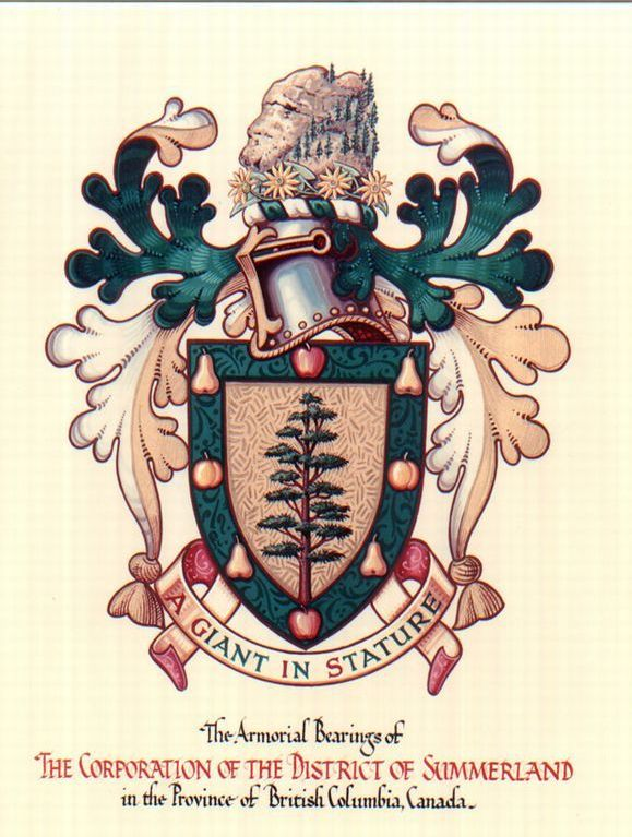 Summerland BC 1967 Coat of Arms