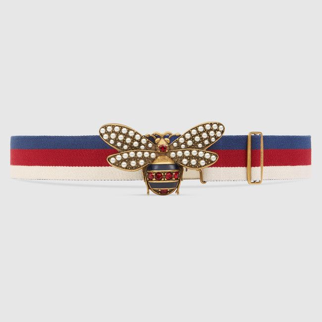 cb2182117 Sylvie Web belt with bee   Gasp.Swoon.Faint.Style.   Gucci sylvie, Belt,  Belts for women