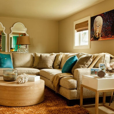 Khaki Couch Set Design, Pictures, Remodel, Decor and Ideas - page 2
