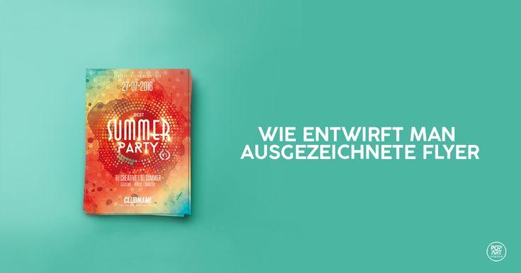 Flyer oder Flugblatt ist eins der besten Werbemittel. Erfahren Sie wie Sie fantastische Flyer entwerfen und damit einen guten Eindruck hinterlassen können. https://www.popwebdesign.de/ #grafikdesign #flyerdesign