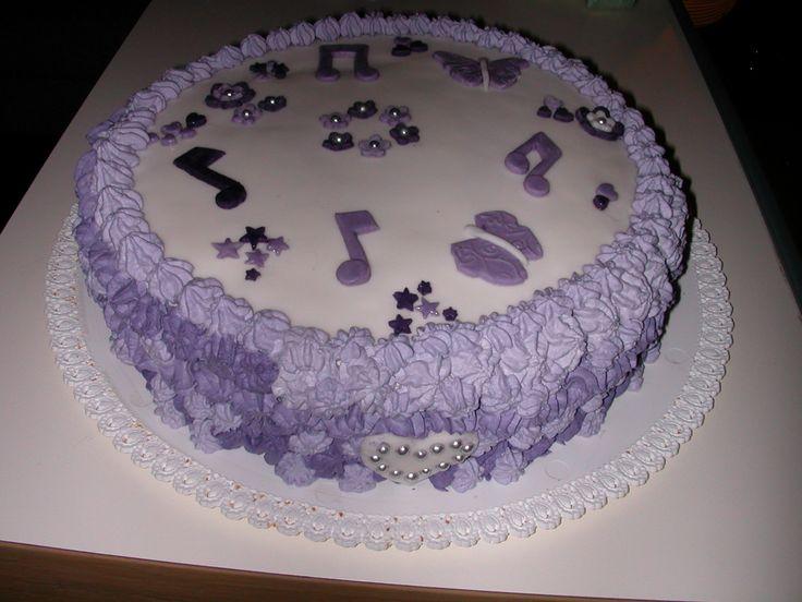 torta margherita nutella e panna