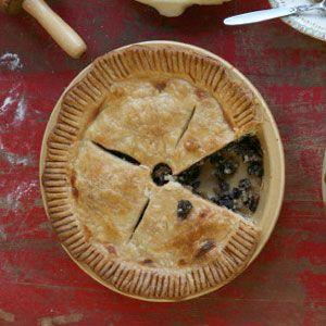 Traditional Mincemeat Pie (w/beef suet & rump steak, brandy) Bourbon or fresh lard instead of suet optional