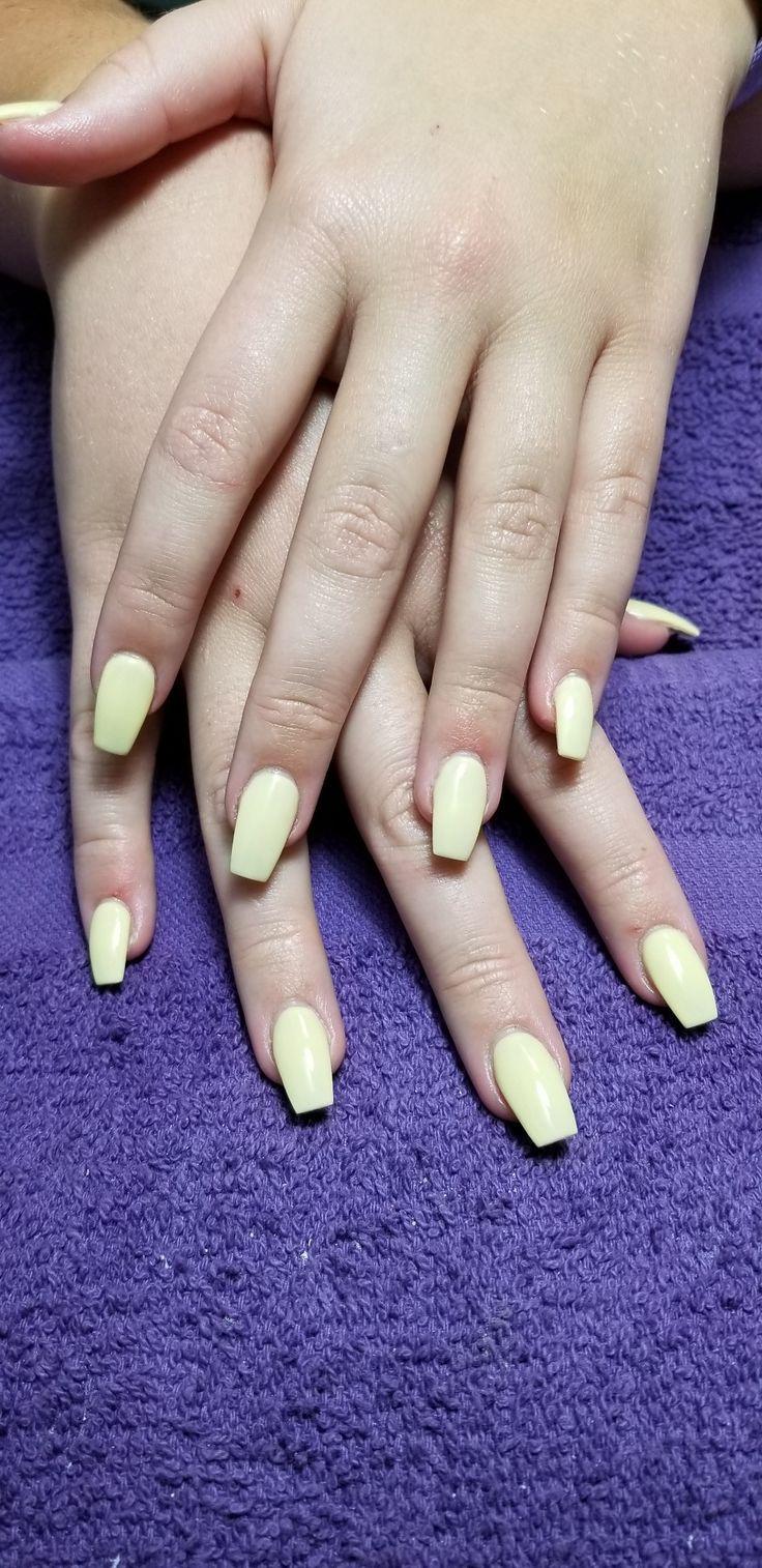 Yellow Gel Polish
