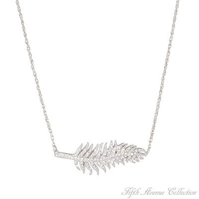 Rhodium Neckpiece - Wild Whisper - Australia - Fifth Avenue Collection - Jewellery that changes the way you see fashion