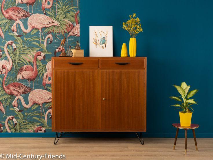 Vintage Kommoden - 50er Kommode, Sideboard, 60er, Vintage, WK-Möbel - ein Designerstück von Mid-Century-Friends bei DaWanda