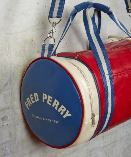 Fred Perry - Accessories - Classic Barrel Bag