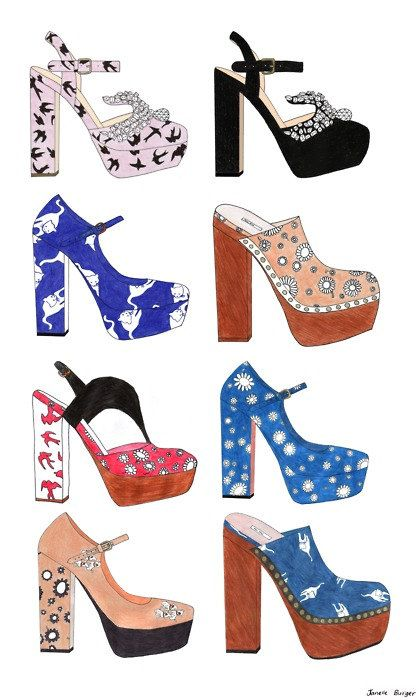 miu miu shoe collection