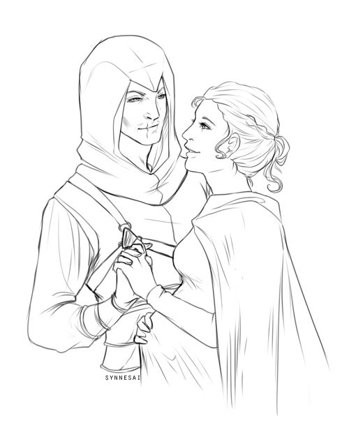 altair and maria meet
