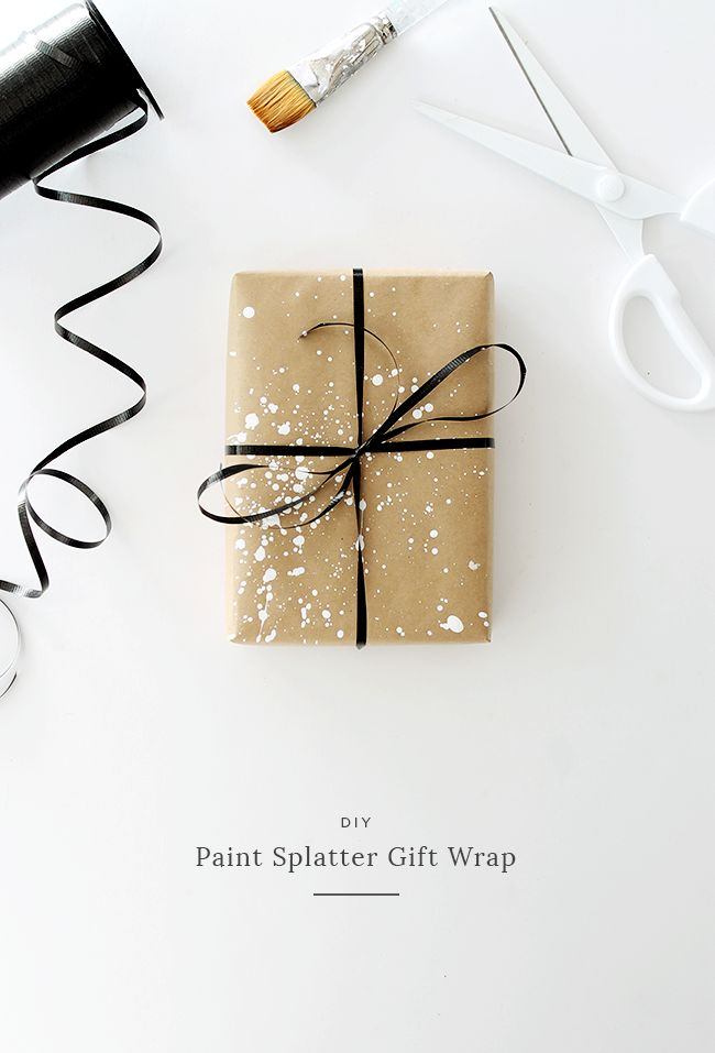 i love simple gift wrap, and i love a simple kraft paper gift wrap — but i…
