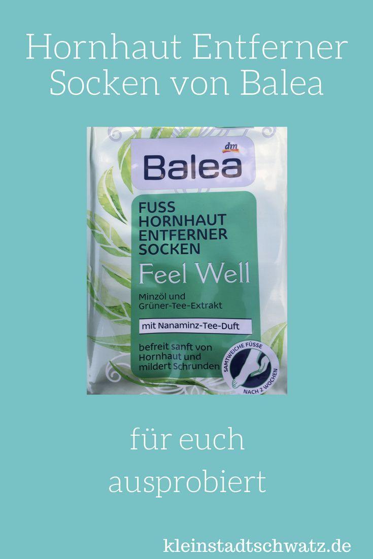 Schöne Füße durch Hornhaut Entferner Socken von Balea? Ich habe es ausprobiert …