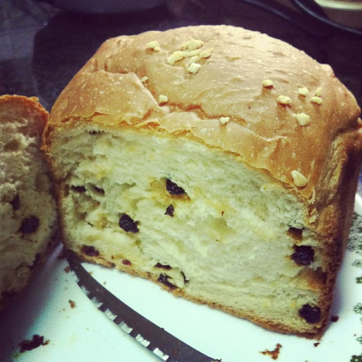Raisins milk bread