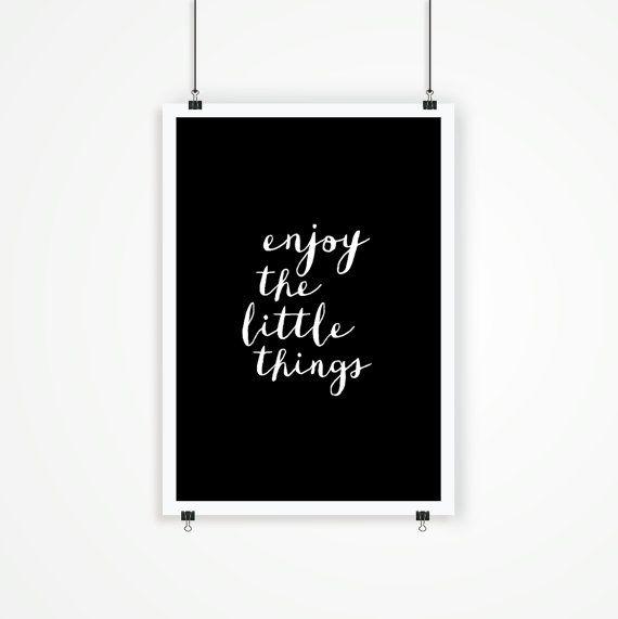 Printable Typography Art Inspirational Quote door TheMotivatedType