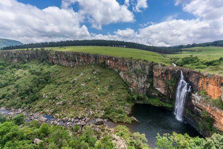 Berlin falls Lisbon River Mpumalanga's Sabie Waterfalls Route Graskop/Sabie