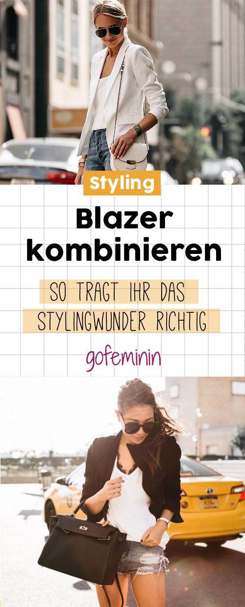 Blazer kombinieren: Styling-Tipps für den Herbst & welcher Blazer zu welcher Figur passt! – gofeminin.de