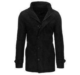 Pánský kabát LEVI - černý | TAXIDO fashion