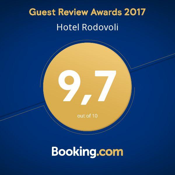 Δείτε το Guest Review Award μας για το 2017 από την @bookingcom. #guestsloveus Ευχαριστούμε όλους τους επισκέπτες μας από την @bookingcom για την εξαιρετική βαθμολογία σχολίων!#guestsloveus