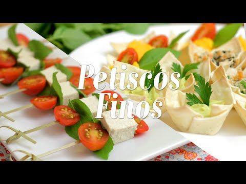 Petiscos Finos + Maionese de Batata e Cenoura (Especial de Casamento) - YouTube