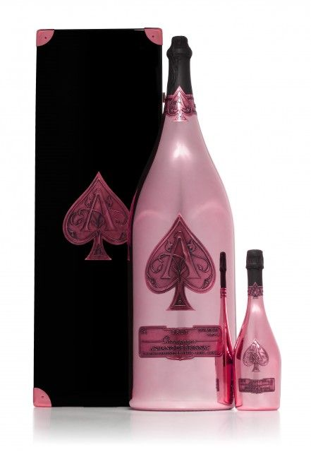 In June 2012, Armand de Brignac released the world's largest bottle of rosé champagne, christened the 'Nebuchadnezzar'. Known as the luxury champagne brand of super-rich billionaires, Armand de Brignac is recognised world over for having guided the early pioneers of champagne, with true passion and innovation. This champagne brand is also famous for being sold in its signature opaque metal bottles -$100,000