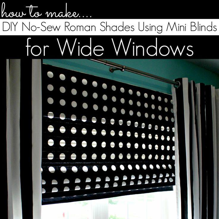 Best 25 Diy Roman Blinds Ideas On Pinterest
