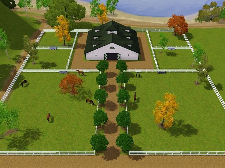 Sections of grazing horse pinterest barn horse and for Ranch layout