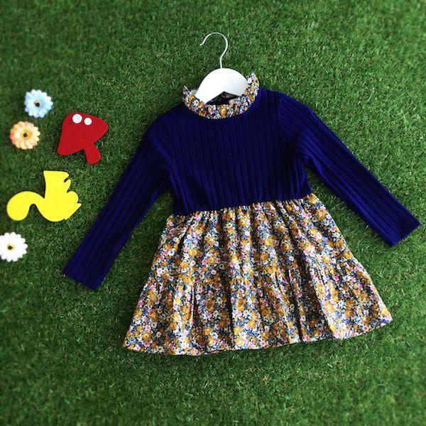 WILD FLOWER DRESS #CandyRainbow #kidsboutique #childrenclothingstore #dresses