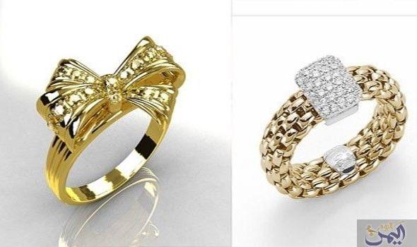 خواتم ذهب Rose Gold Ring Gold Rings Gold