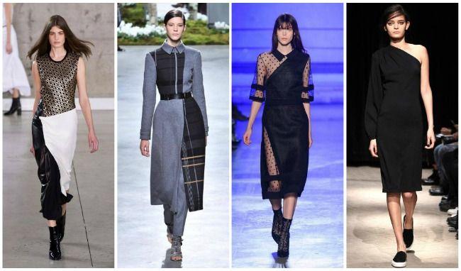 Модные повседневные платья осень-зима 2015-2016