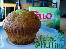 Monster Sweet Tooth: Pistachio Muffins