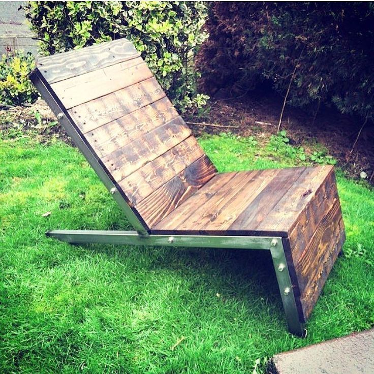 The weather is getting nicer so kickback and relax in a reclaimed wood and steel Adirondack chair from 22nd Supply Co. #industrial #industrialdesign #design #decor #homedecor #wood #reclaimed #reclaimedwood #interior #interiordesign #adirondackchair #industrialfurniture #industrialchair #furnituredesign #outdoorlife #outdoorliving #pnw #seattle #westseattle #pnwwonderland #dwell #dwellrooms #22ndsupplyco by 22ndsupplyco