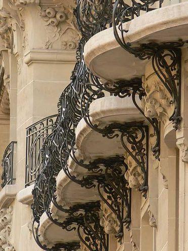 Paris Arquitectura, herreria artistica....