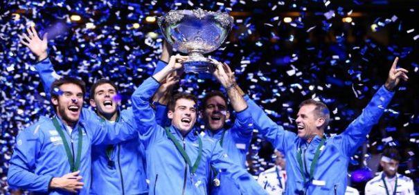 Federico Delbonis offre à l'Argentine sa première Coupe Davis   Cliquez sur l'image pour lire l'article dans L'Equipe  via Instagram http://ift.tt/2fqB8SF  Le 27/11/2016 à 21:48:00   Mis à jour le 27/11/2016 à 22:23:30 Inspiré comme jamais Federico Delbonis a écoeuré Ivo Karlovic lors d'un cinquième match décisif en finale de la Coupe Davis dimanche en Croatie. Le premier titre pour l'Argentine cinq ans après une quatrième finale malheureuse.  .En couverture A la une Sports