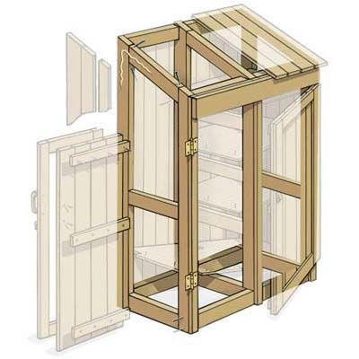 Illustration:+Gregory+Nemec+ +thisoldhouse.com+ +from+How+to+Build+a+Garden+Tools+Shed